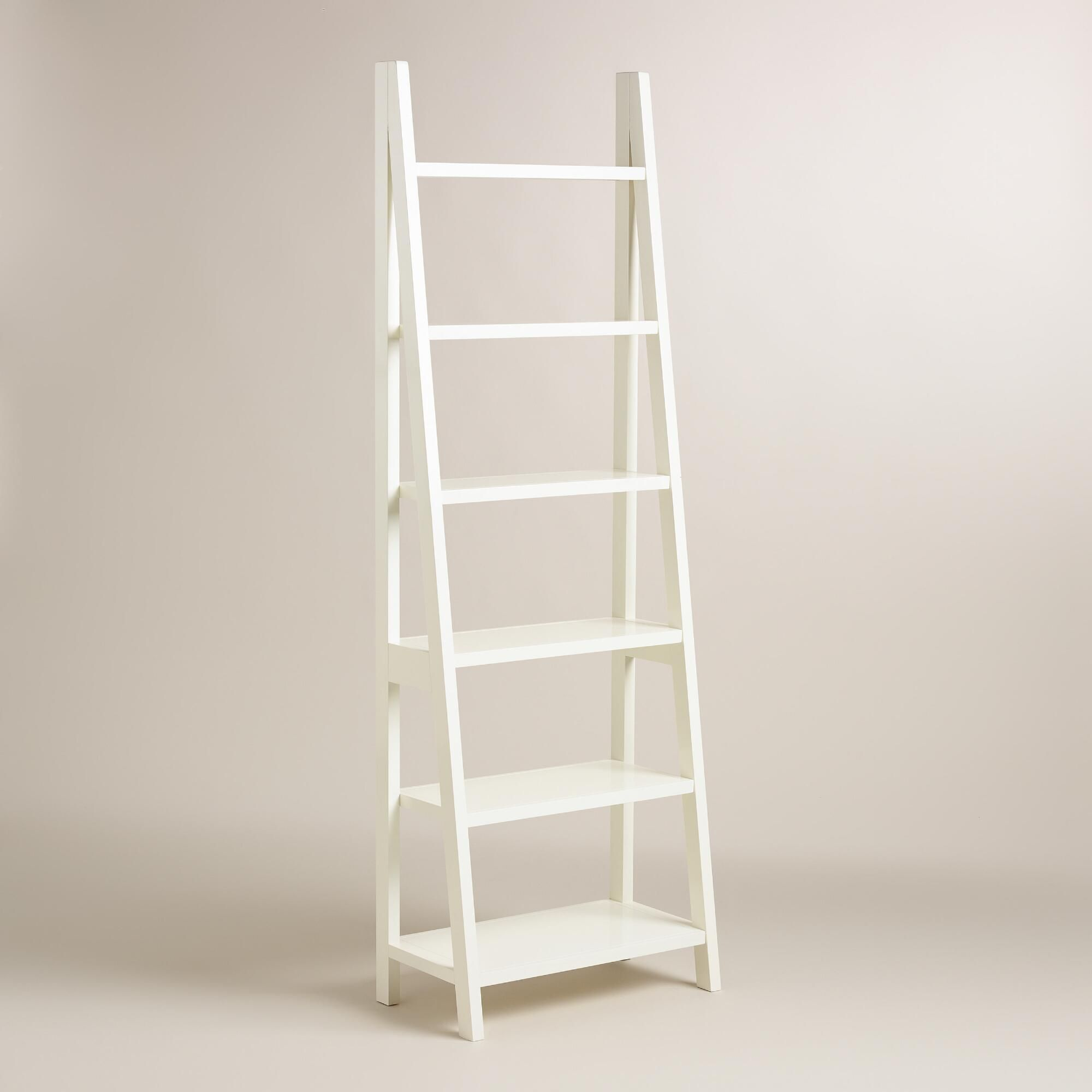 Our leaning bookshelf is a space-saving storage solution that's ideal for  compact areas.