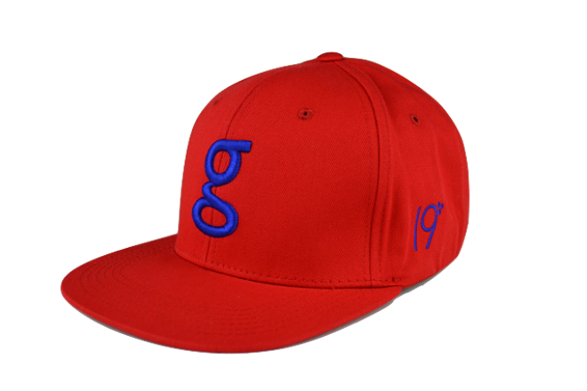 gbelt SnapBack - Royal Blue on Red. Find this Pin and more on Hats 63eb862e49e8
