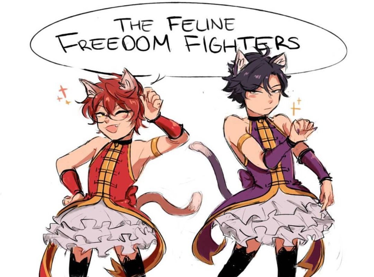 Omg they're so funny >w<
