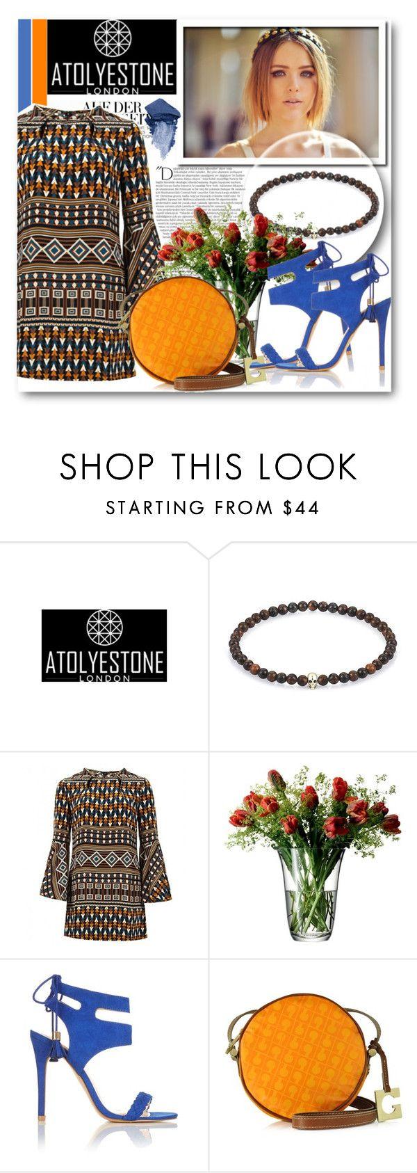 """Atolyestone 17"" by fashionmonsters ❤ liked on Polyvore featuring Balmain, Marni, Gucci, LSA International, Miss Selfridge, Gherardini and Urban Decay"