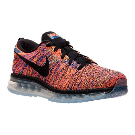 newest 8b290 f74eb Men s Nike Flyknit Air Max Running Shoes - 620469 012   Finish Line