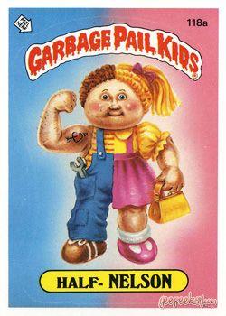 Geepeekay Com Original Series 3 Gallery Garbage Pail Kids Garbage Pail Kids Cards Pail
