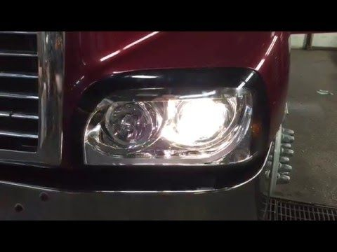 Freightliner Century Headlight With Led Freightliner Led Headlights