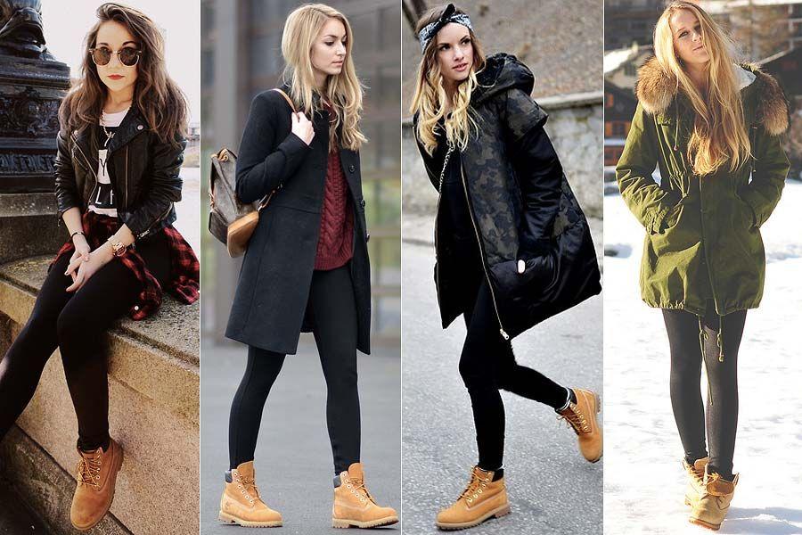 Como Usar Timberland Boots Stuff Stylish Winter