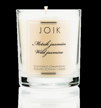 candle wild jasmine transp v