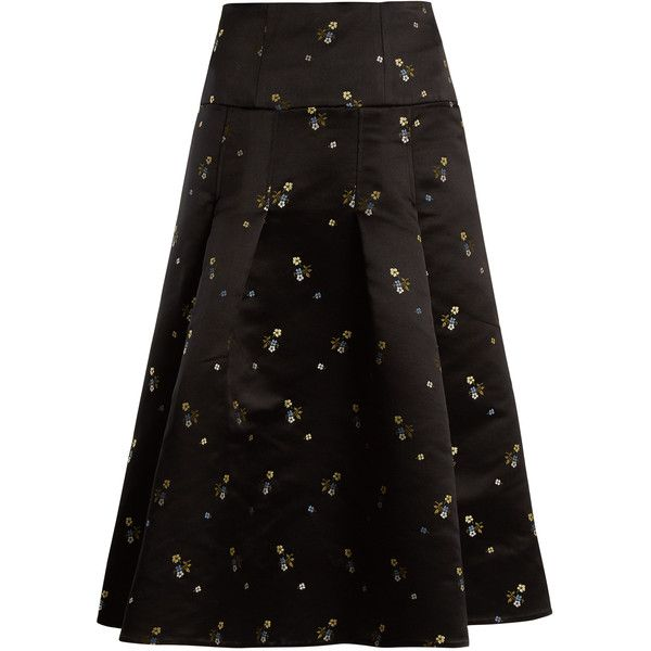 Erdem Knee-Length A-Line Skirt Cheap Sale Eastbay 6Jajxte