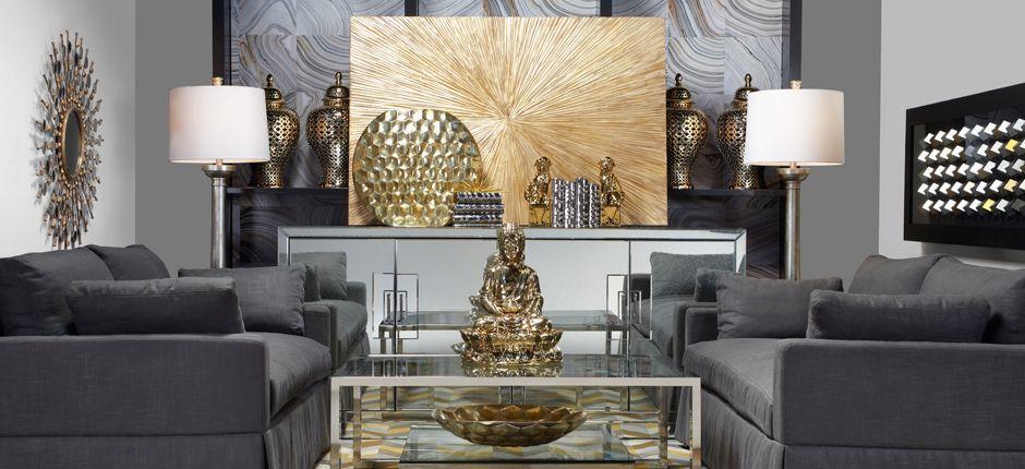 Home Decor Mixed Metals Zen Living Rooms Living Rooms