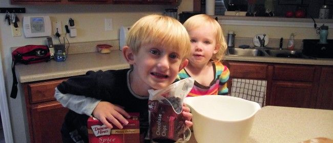 pumpkin-spice chocolate chip cookies