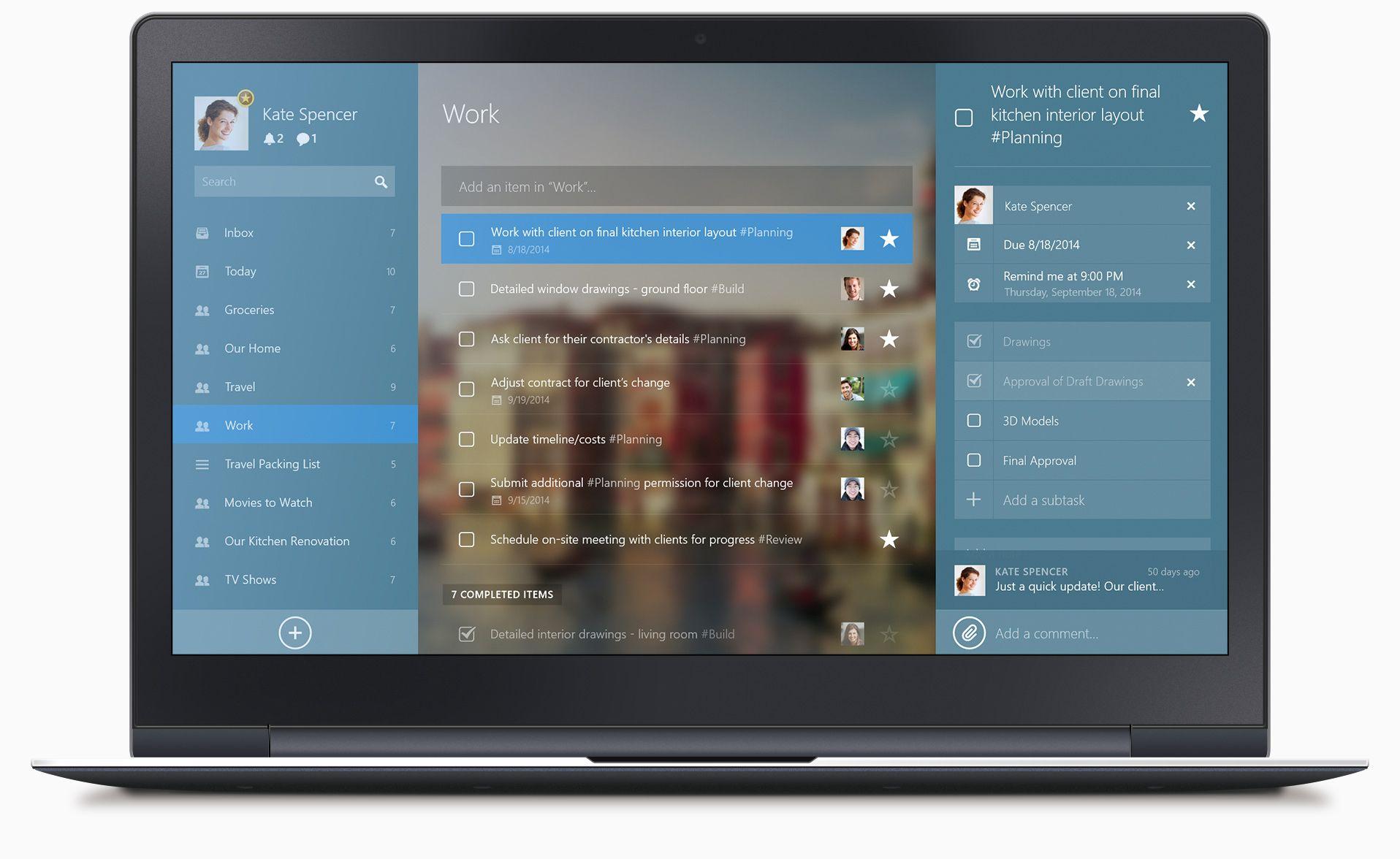 Rumor: Microsoft quer comprar aplicativo de lista de tarefas Wunderlist - http://www.showmetech.com.br/rumor-microsoft-quer-comprar-aplicativo-de-lista-de-tarefas-wunderlist/