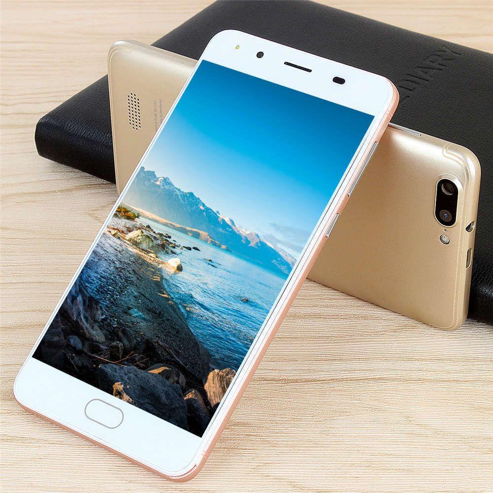 R11MAX 5'' Unlocked Smartphone Quad-Core 2+8G 4G/GSM WiFi GPRS Dual