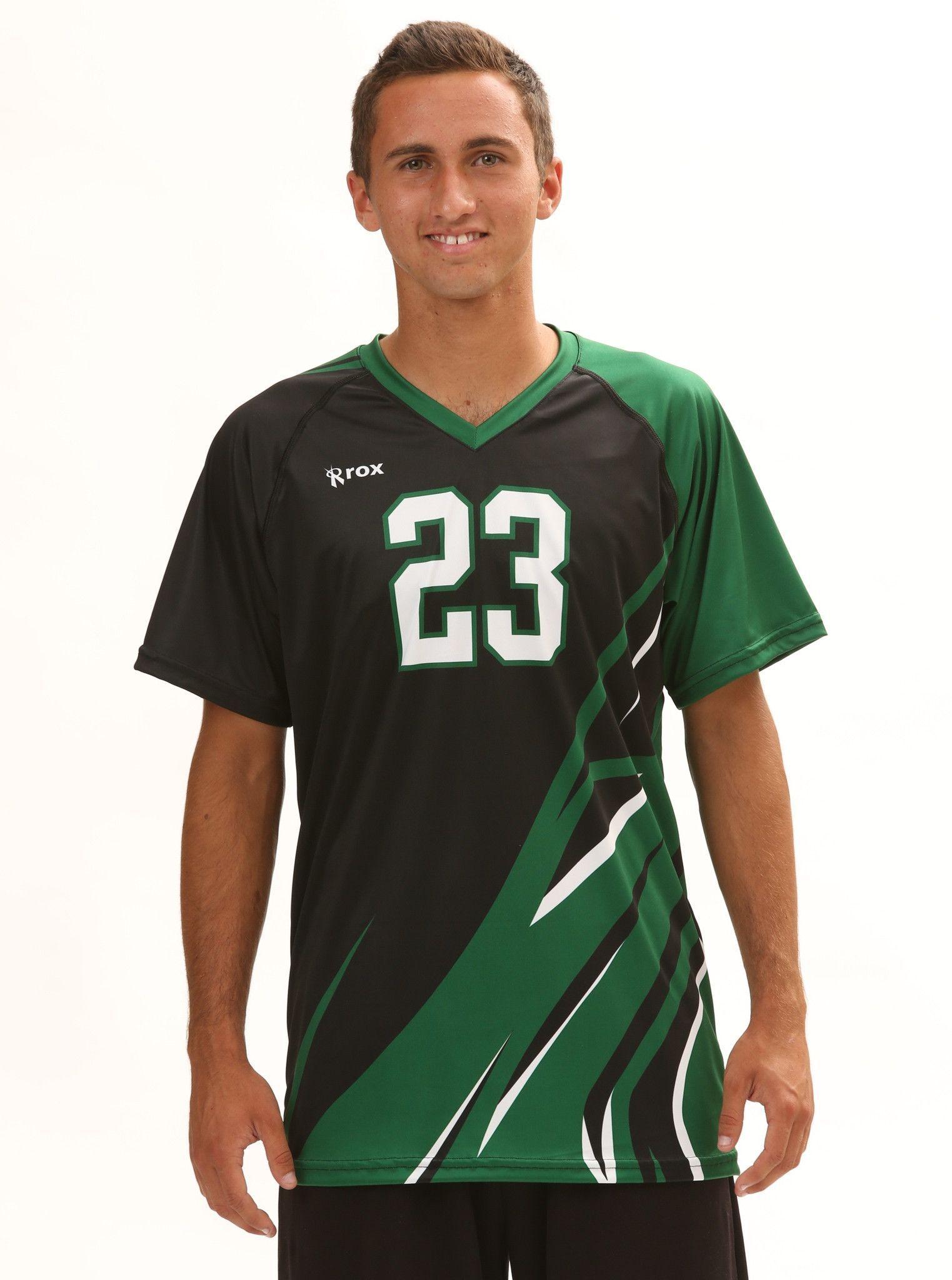 Rox Volleyball Quake Men S Sublimated Uniform Volleyball Uniforms Design Volleyball Uniforms Men In Uniform