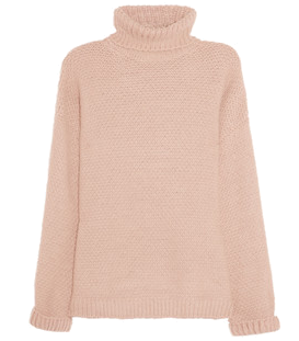 Alpaca-blend turtleneck sweater  by Stella Mccartney #matchesfashion