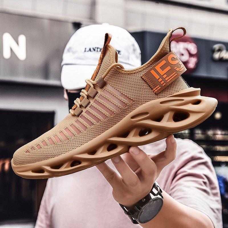 Primavera 2020 Zapatillas De Deporte De Moda Para Hombre Zapatos De Malla Ligera Transpirable Para Mujer Zapatos Casuales Para Hombre Zapatos De Marca De L In 2020 Breathable Shoes Men Stylish