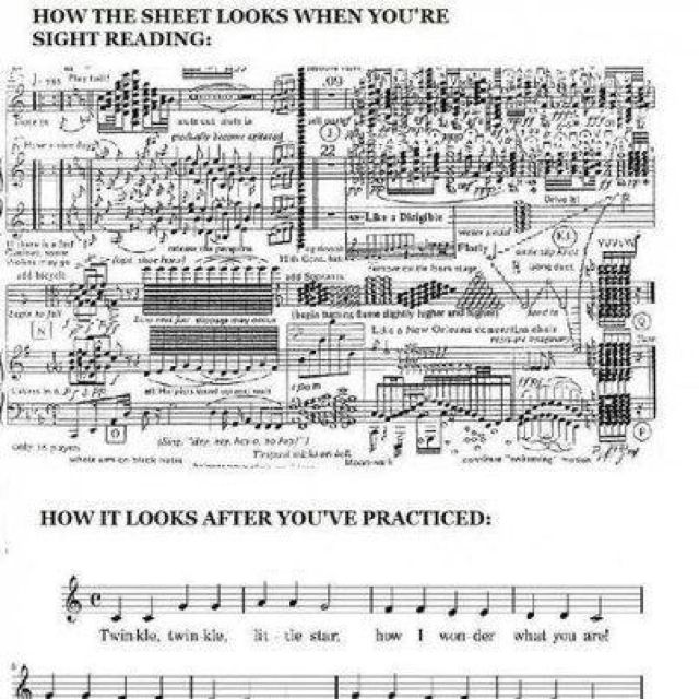GOSH!!!! All the time!!!! Curse you auditions with sight reading passages in a flat major
