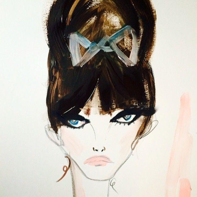 Anna Karina eyeliner by Blonde Lasagna It's ALL GLAM   ZsaZsa Bellagio - Like No Other