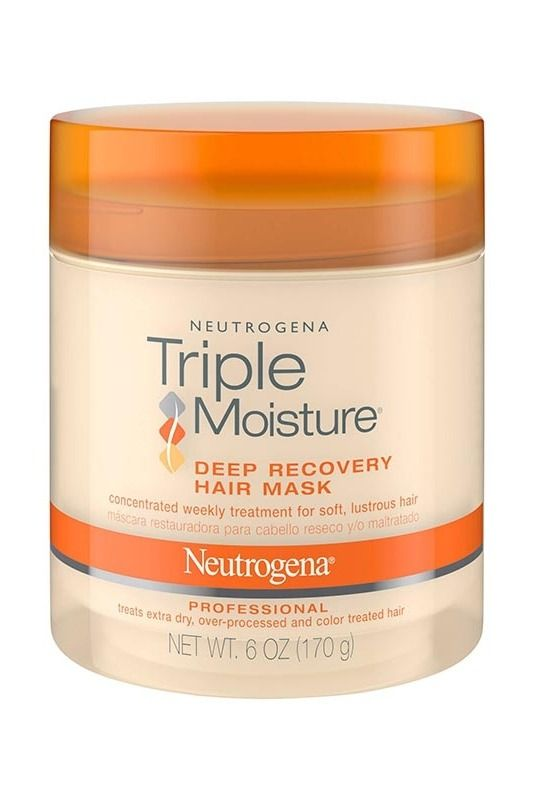 Triple Moisture Deep Recovery Hair Mask Shampoo For Dry Scalp