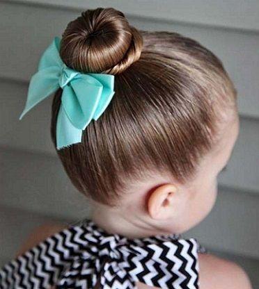moda para peques peinados con moo para nias