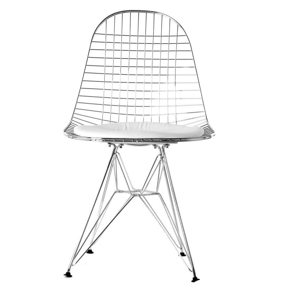 Replica eames wire chair by charles and ray eames 109 for Charles ray eames reproduction