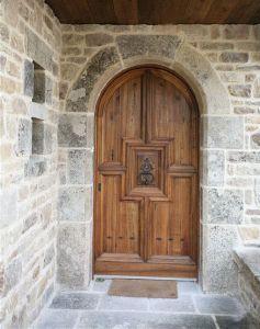 Fabrication Porte Du0027entrée Renaissance Plein Cintre