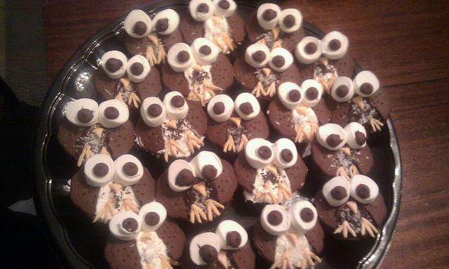 Owl Cupcakes by EmilyGeorge, via Flickr