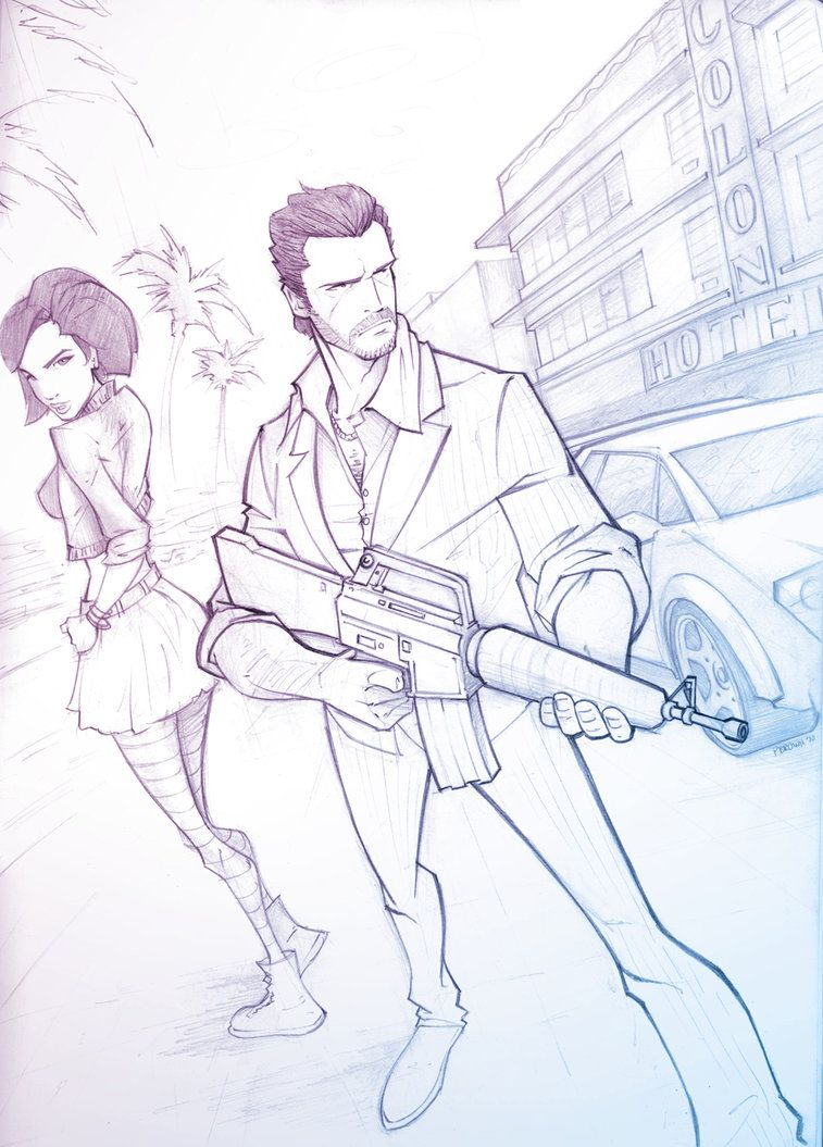 Vice City Superhero Art Projects Grand Theft Auto Artwork Animated Drawings
