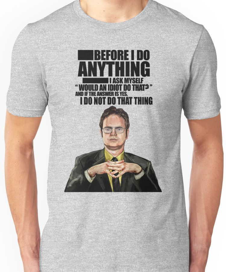 The Office - Dwight K. Schrute Unisex T-Shirt