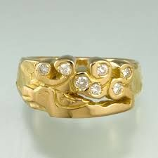 Image result for lost wax cast silver ring