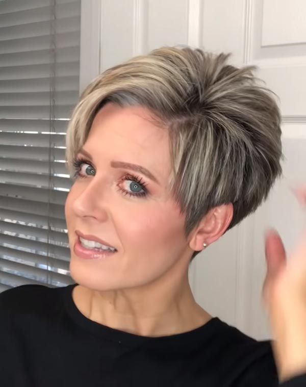 Some Short Hairstyles for Women Over 50, Improving