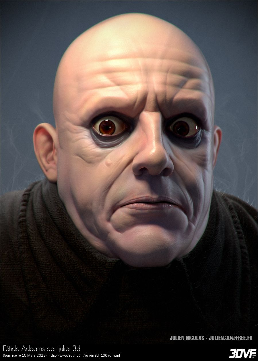 Uncle fester the addams family pinterest - Ah Fester Adams