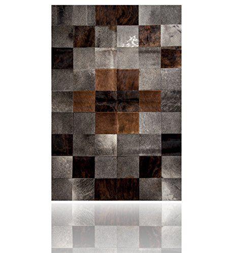 Amazon De Kuhfell Patchwork Teppich Tapis En Peau De Vache