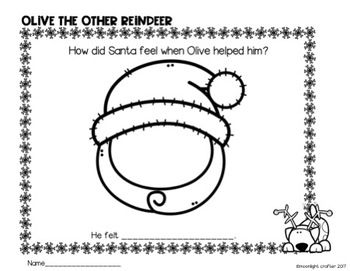 Olive The Other Reindeer Book Companion Olive The Other Reindeer