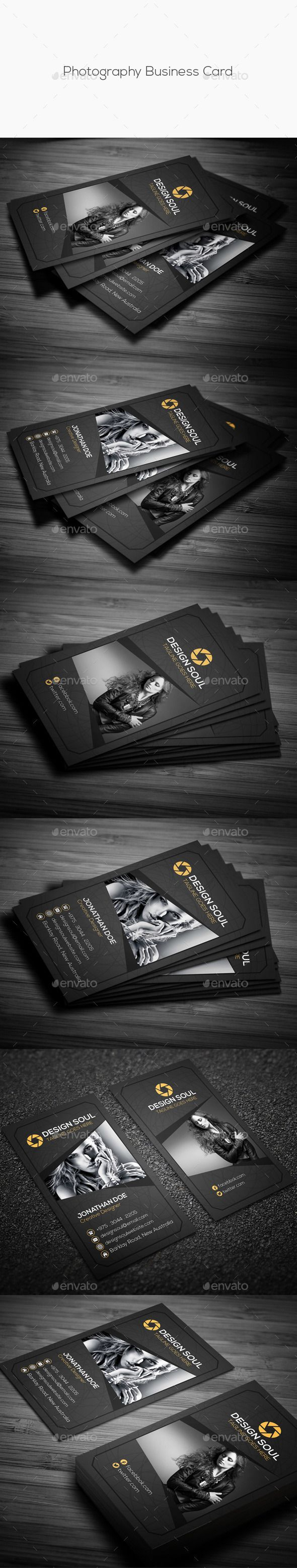 Photography business card creative business card template psd photography business card creative business card template psd download here http flashek Choice Image