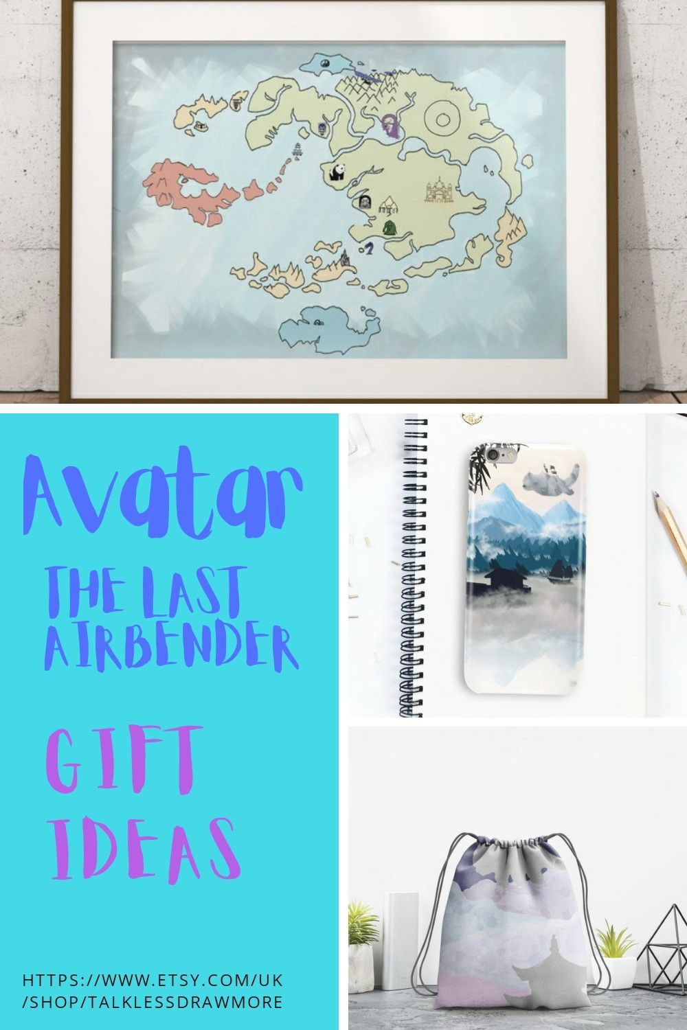 Avatar the last airbender gift ideas etsy in 2021