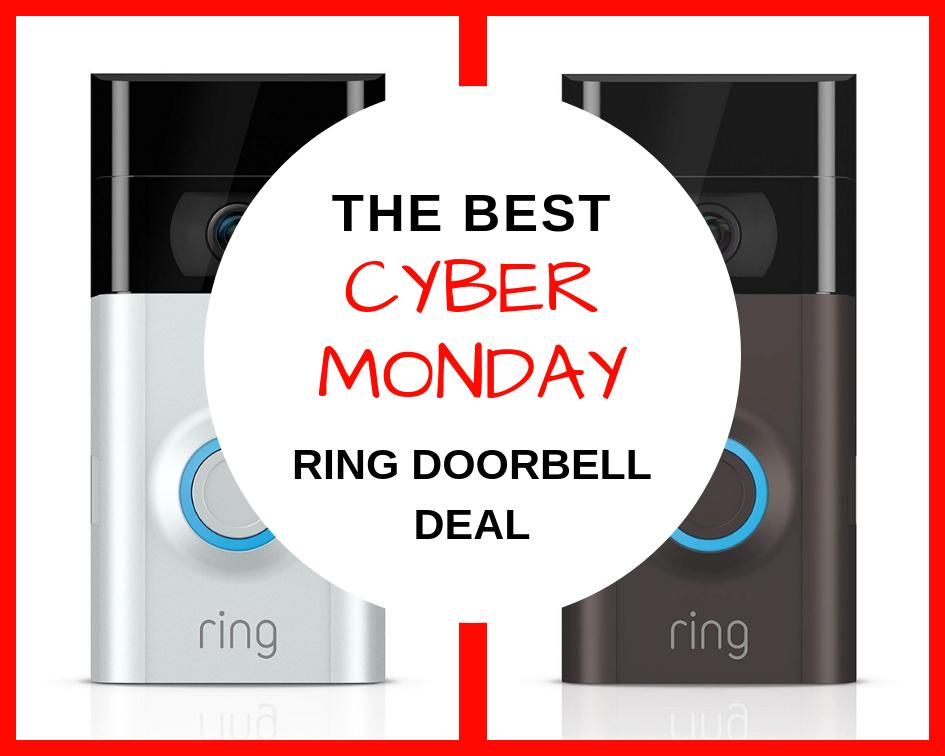 The Best Cyber Monday Deal For The Ring Doorbell Here You Go Https Www Thegiftlocator Com Best Cyber Monday Best Cyber Monday Deals Ring Doorbell