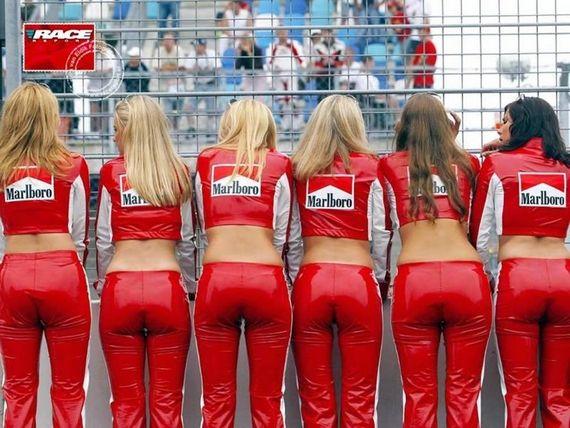 Photo Of The Day Marlboro Girls Grid Girls Pit Girls F1 Grid Girls