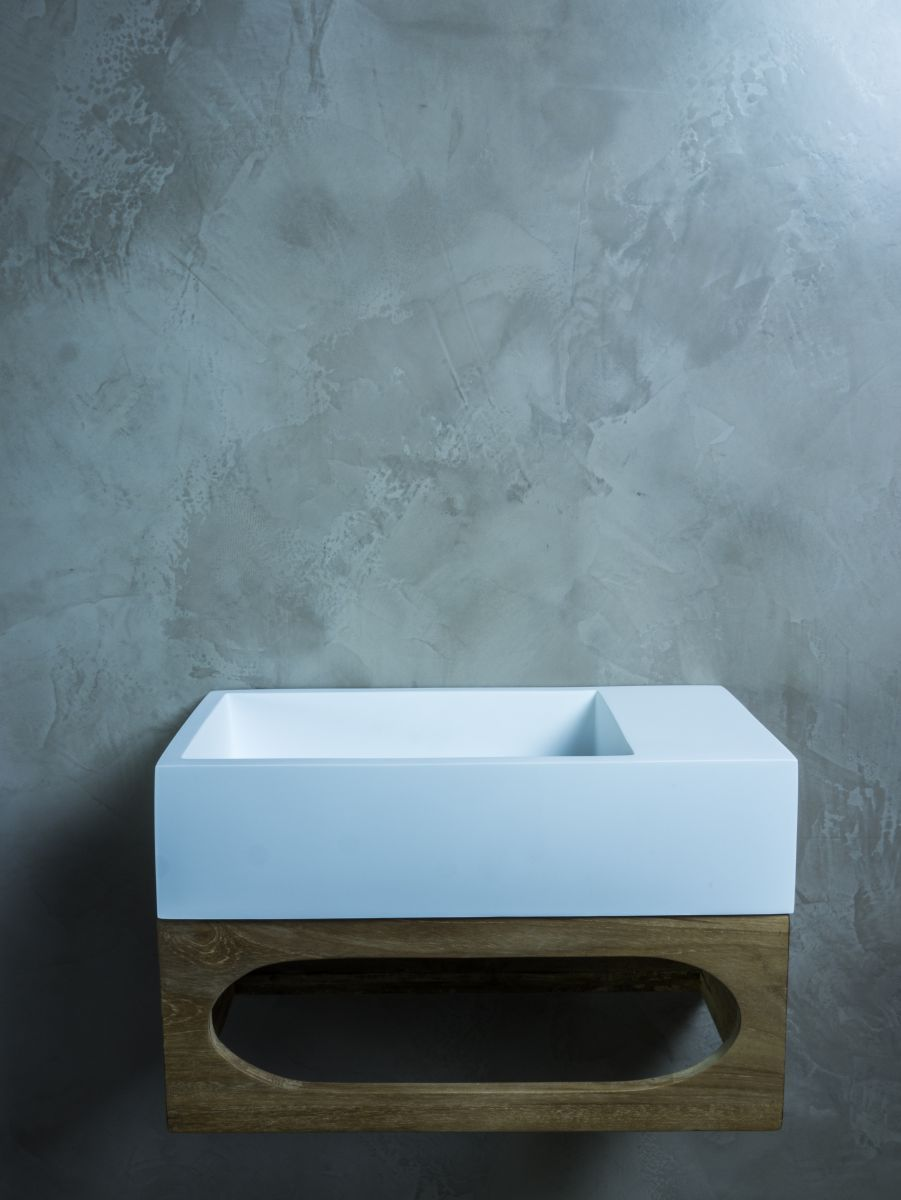 Toiletmeubel Gili Solid Surface Fontein | toilet | Pinterest | Solid ...
