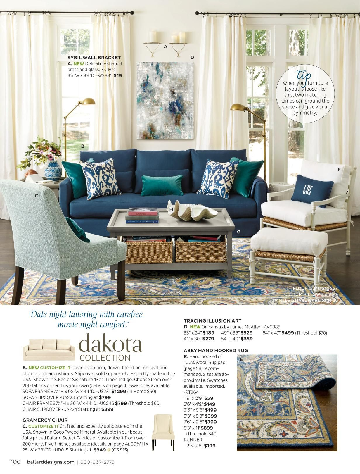 Design My Living Room Online: Ballard Designs Online Catalogs