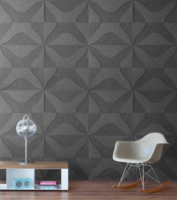 New Wool Felt And Cork Wall Coverings From Submaterial Wall