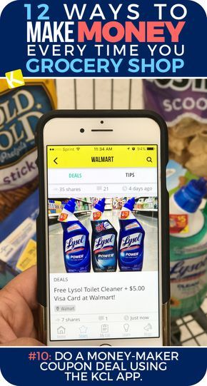 11 ways to make money every time you grocery shop earn money