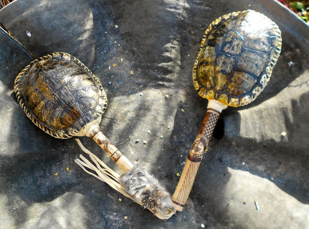 Crafting an authentic native american style turtle rattle for How to make native american arts and crafts