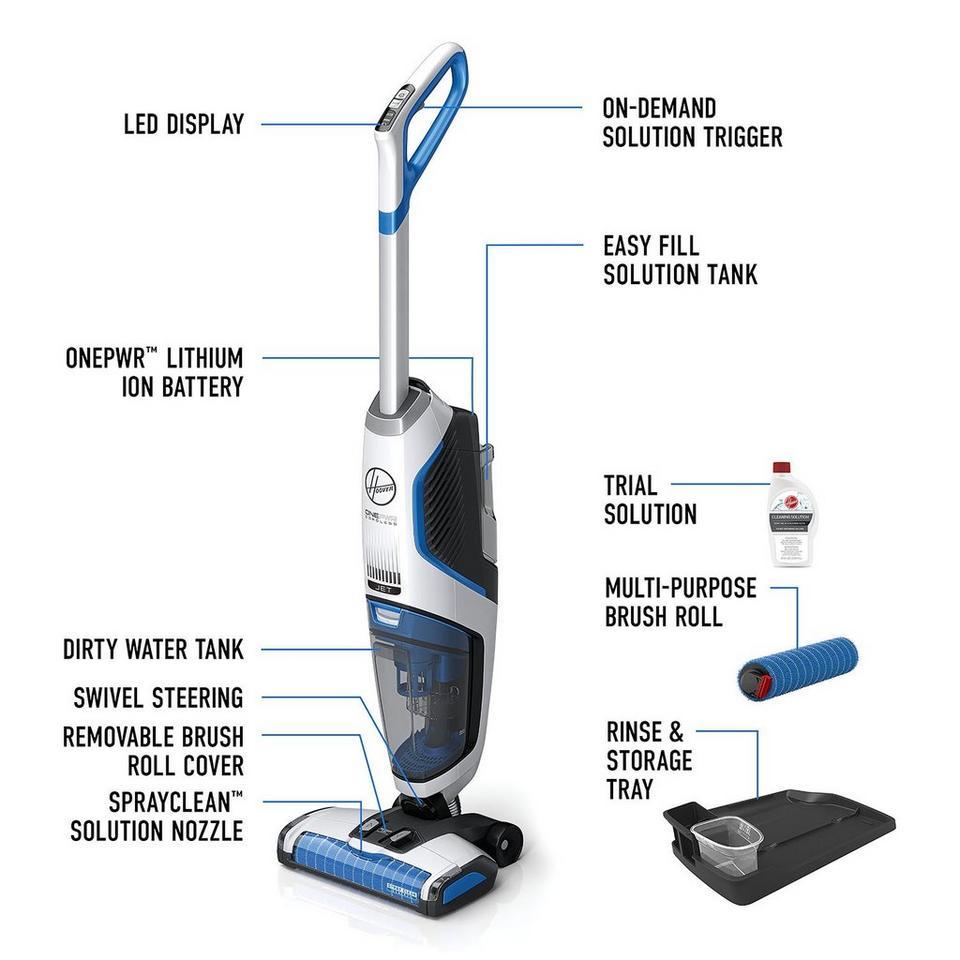 Onepwr Floormate Jet Cordless Hard Floor Cleaner Bh55210 Floor Cleaner Hard Floor Cleaners