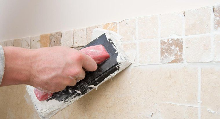 Remove Dry Grout From A Tile Surface