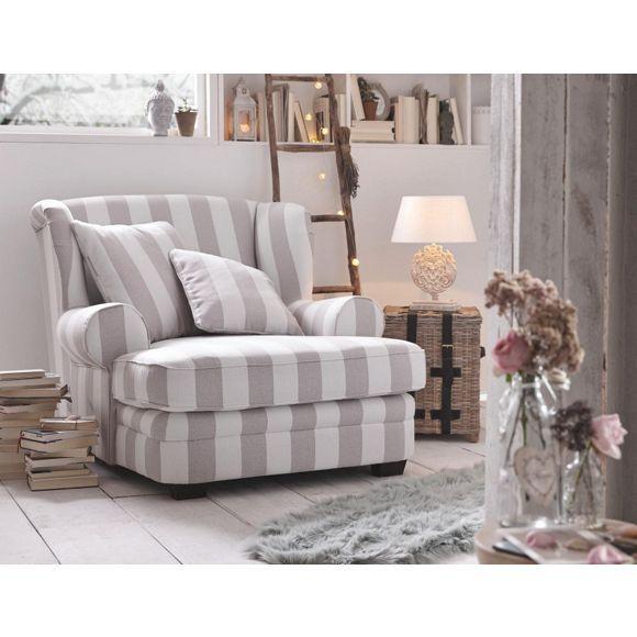 SESSEL Flachgewebe Beige, Weiß Sofa sessel, Wohn esszimmer und - wohnzimmer beige wei