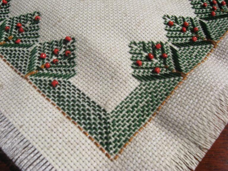 Free Swedish Huck Weaving | Huck Embroidary - IndusLadies | Bordado ...
