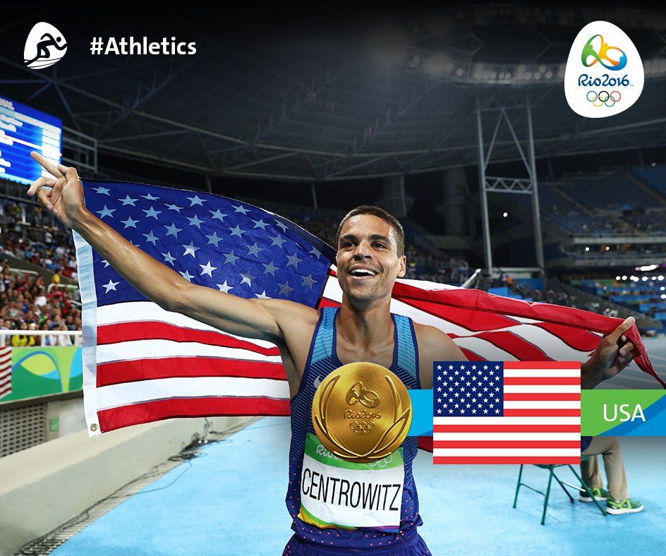 The first two #Athletics #Gold medals of the night were the Women's 800m to #RSA and the Men's 1500m to #USA 👏👏