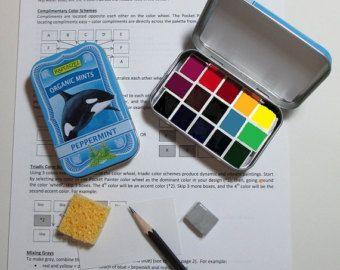 Watercolor Unboxing Of Schmicke Horadam Tubes Comparison Tubes