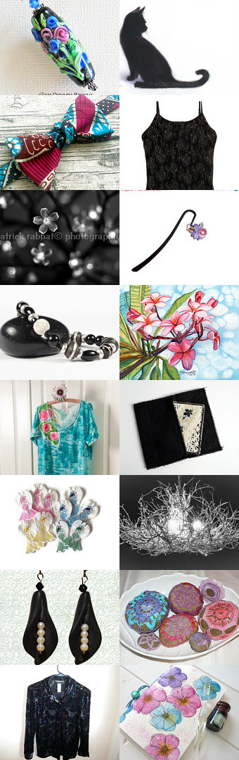 ✿ Midnight in the garden... by Dorothy Williams on Etsy--Pinned with TreasuryPin.com