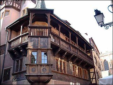 La maison Pfister de Colmar
