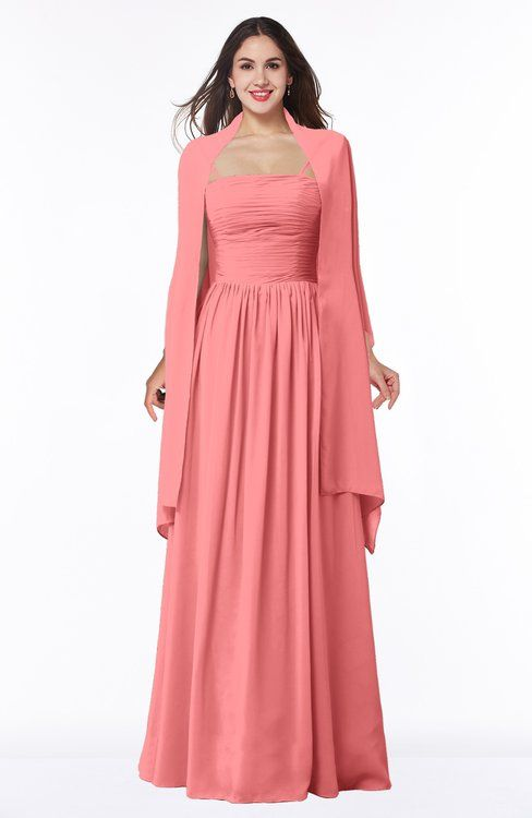 Bridesmaid Dresses Coral color 500+ styles