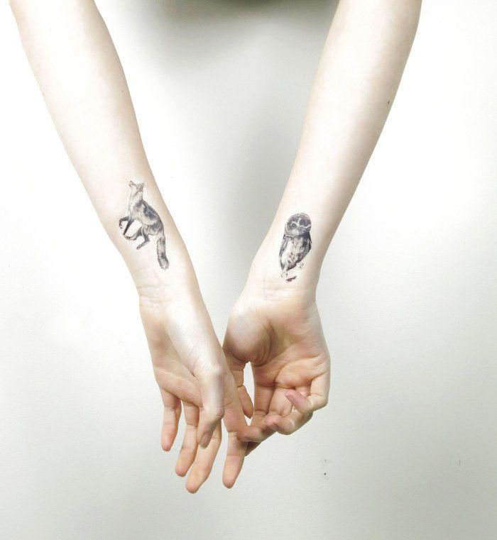47 inspirierende ideen und bilder zum thema owl tattoo kleine tattoos zweite hand und. Black Bedroom Furniture Sets. Home Design Ideas